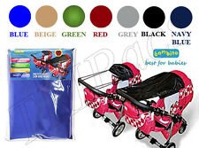 Baby Sunshade with UV Protection for Pram Stroller Buggy Wind Sun Sail