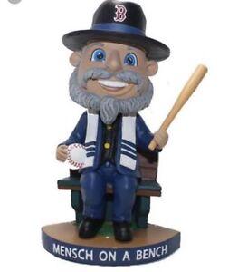 Mensch On A Bench Boston Red Sox Bobblehead Bobble Head SGA 6-5-18 New