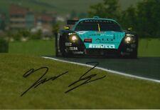 Thomas Biagi Hand Signed Vitaphone Racing 12x8 Photo 2.