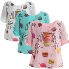 Kurzarm Mädchen-Tops, - T-Shirts & -Blusen Größe 104 mit Blumenmuster
