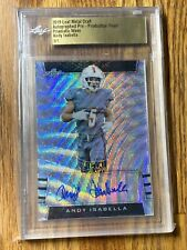 2019 Leaf Metal Draft Andy Isabella 1/1 Slabbed Auto Pre-Production Proof 🔥🔥