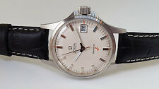 VERY RARE 60'S OMEGA GENEVE ANCHOR ADMIRALTY AUTO CREAM DIAL DATE MAN'S WATCH