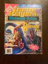 GAME PLAYERS MAGAZINE NINTENDO GUIDE WINTER 1991 IN EXCELLENT CONDITION! RARE!