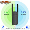 1200Mbps Wireless USB WiFi Network Adapter Dongle Dual Band 2.4 & 5.8ghz For PC