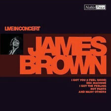 James Brown – Live in Concert CD Membran Music 2004 NEW & SEALED