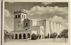 Ft Sam Houston Post Theatre Postcard Picture RPPC Tx Vintage Military Texas