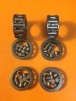 Harley 750 Flathead 45 WL WLA WLD G 24370-29 Connecting Rod Bearings Cages New