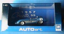 CHEVROLET SS #1 1957 BLUE AUTOART N° 51051 1/43 RACING LE MANS ROADSTER SPA
