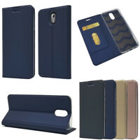 For Nokia 2.1/ 3.1 /5.1 plus Leather Magnetic Card Slots Wallet Flip Case Cover