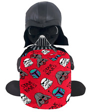 Disney Star Wars Darth Vader Plush & Hugger Blanket Throw Set NWT