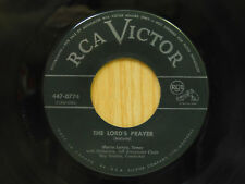 Mario Lanza 45 Ave Maria bw The Lords Prayer   RCA VG Canada