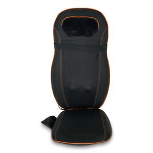 Chair Cushion Massager Leather Shiatsu Infrared Adjustable Back Neck Massage Pad