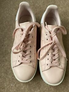 Adidas W Icy Pink Stan Smith Ladies Trainers Size 7