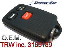 1993-1997 FORD EXPLORER KEYLESS ENTRY REMOTE OEM KEY FOB GQ43VT4T TRW 3165189