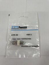 Itt Pomona Electronics 4119 50 Bnc Male Female Terminal 50 Ohm
