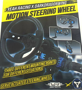YA-0539 1/10 Scale Motion Steering Wheel for 1:10 Crawler Drift RC Touring Cars