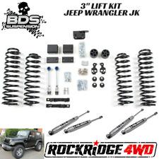 "BDS Suspension Jeep Wrangler JK NON-RUBICON 12-18 3"" Lift Kit 2 Door 4WD JKU USA"