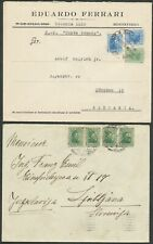 More details for uruguay 4 interesting commercial covers one registered bin price gb£10.00