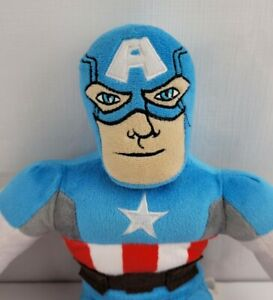 "Marvel Avengers Captain America Plush 16"" With Fabric Shield"