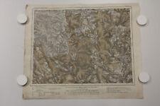 alte Karte des Deutschen Reiches Spessart Landkarte 509 Orb. um 1880 ...7