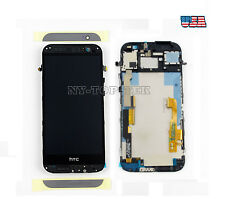 New Original Touch Screen Digitizer LCD Display Frame for HTC One M8 831C (USA)