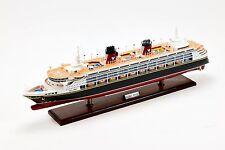 "Disney Magic Cruise Ship Handmade Wooden Ship Model 32"" with lights"