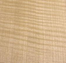 "Anigre Figured raw wood veneer 11"" x 8"" no backing ""Aaa"" grade quality 1/42"""