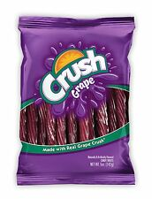 Kenny's Juicy Grape Crush Twist - Soda Flavored Licorice Candy - 5 Oz - 1 Bag
