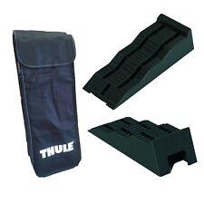 Thule Keil Leveller Auffahrkeil 2er-Set Stufenkeil Unterlegkeil mit Tasche