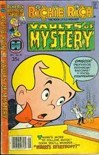 1979 Richie Rich Vaults of Mystery Comic Book #30