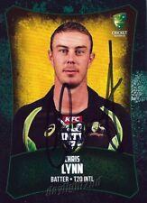 ✺Signed✺ 2016 2017 AUSTRALIAN Cricket Card CHRIS LYNN Big Bash League