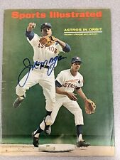 Joe Morgan Signed Sports Illustrated Rookie Cov Autograph No Label 6/6/1966 JSA