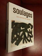 Livre d'Art - Musée Soulages: Les papiers du musée de Pierre Encrevé - Gallimard