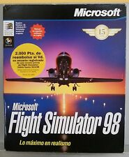 FLIGHT SIMULATOR 98 - PC - VERSION ESPAÑA - COMPLETO