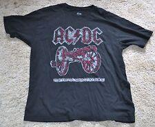 AC/DC ROCK SHIRT BLACK LARGE AC DC CONCERT ARTIST L ROCK N ROLL CLASSIC MUSIC