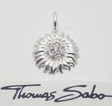 THOMAS SABO Anhänger UVP-49,00 € PE571-051-14 Blume synth. Zirkonia 925 Silber