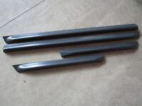 ORIGINAL S6 V8 BREITE Türleisten unten AUDI A6 vorne hinten Tür Leiste Türleiste