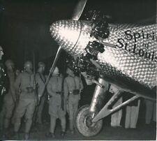 """Film L'Odyssée de LINDBERGH c.1955 - Soldats  """"Le Spirit of St Louis"""" - PR 919"""