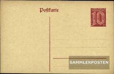 Deutsches Reich DP4 Dienstpostkarte ungebraucht 1920 Dienstpostkarte