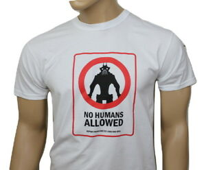 District 9 (2009) inspired mens film t-shirt - No Humans Allowed