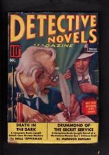 Detective Novels Magazine Vol 2 #3 BETTER 1938 Pulp