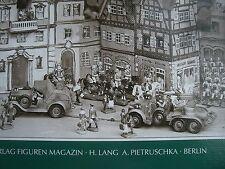 Neues Buch ! Hausser Elastolin Dioramen Figuren Sodaten Fahrzeuge Indianer Tiere