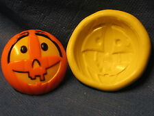 Halloween Pumpkin Silicone  Mold Clay Candy 219 Sugarpaste Modeling Chocolate