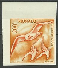 MONACO OISEAUX MOUETTES SEAGULLS BIRDS VÖGEL ESSAI COLOR PROOF ESSAY ** 1957