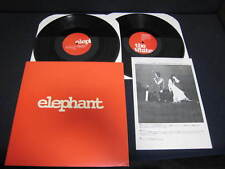 White Stripes Elephant US Promo DBL Vinyl LP w Japan Press Release Jack White