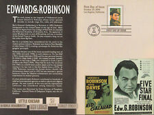 2000 EDWARD G ROBINSON FIRST DAY Presentation Booklet - Excellent