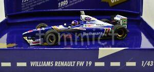 1997 Jacques Villeneuve Renault 1:43 World Champion Box w/ FULL LIVERY
