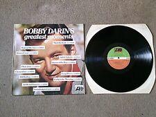 BOBBY DARIN - THE BOBBY DARIN STORY - K 40547 - ATLANTIC - EX