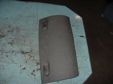2002 02 CHRYSLER TOWN & COUNTRY JACK STORAGE COMPARTMENT LID COVER DOOR GREY