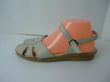 Clinic Lites Beige Leather Sandals Size 9.5 M